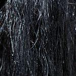 La texture du crin de cheval